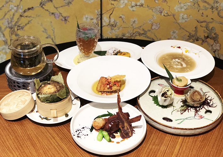 Hua Ting Tea Pairing Dishes