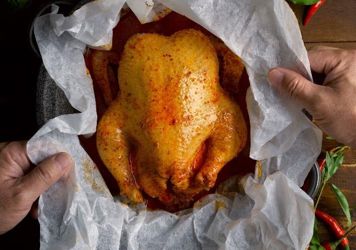 Royale Paperbag Laksa Chicken