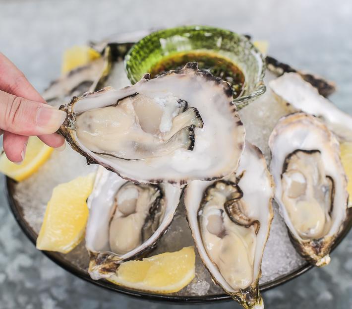 Tsukiji Oysters