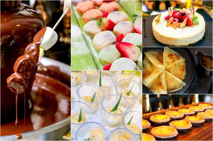 Mercure Royale Desserts