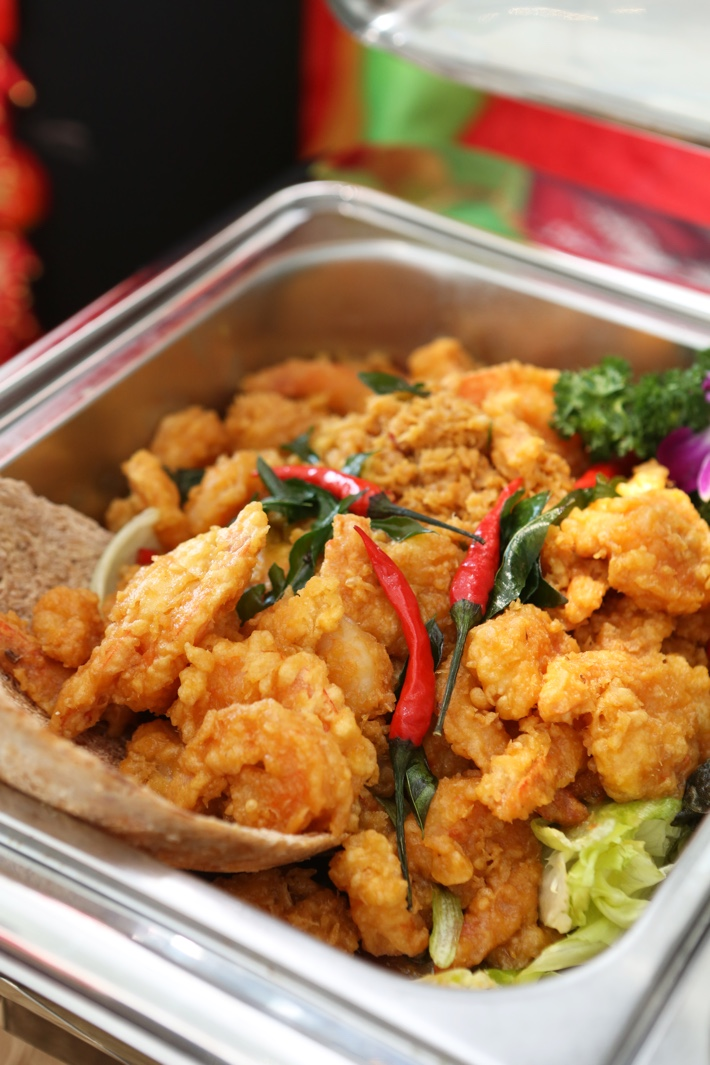 Stamford Catering Salted Egg Prawns