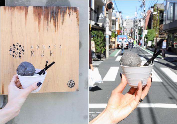 Gomaya Kuki Seseame Ice Cream