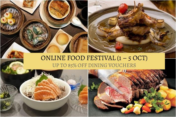 Chope Online Food Festival Presale