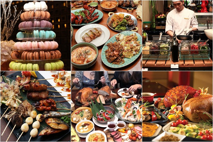 CHOPE Buffets Collage