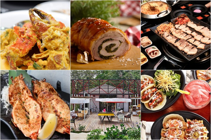 CHOPE Group Dining Collage